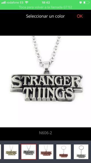 Colgante STRANGER THINGS