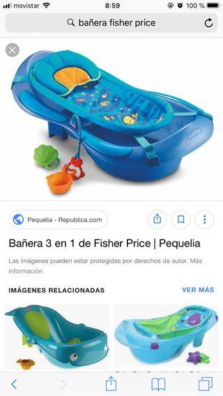 77ce75707 Bañera bebé Fisher Price de segunda mano en WALLAPOP