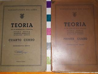 2 LIBROS de SOLFEO.