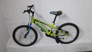 bicicleta de 6 a 8 años