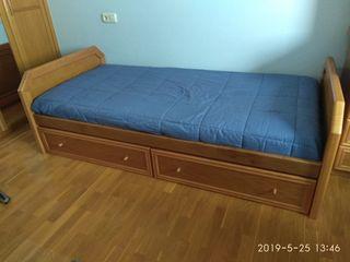 cama nido con cajones