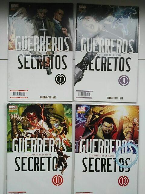 Guerreros Secretos colección completa (Panini)