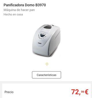 Panificadora DOMO B3970