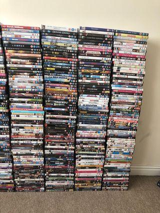 Dvd's x 500