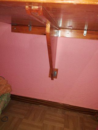 mesa de pared abatible