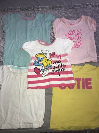 Pack 5 camisetas