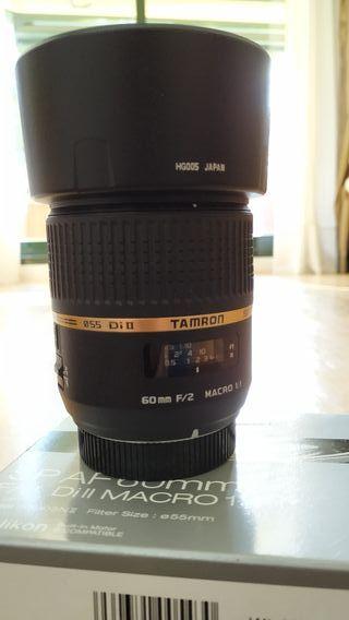 Objetivo Tamron 60mm f2 1:1