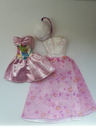 Lote 2 Vestidos muñeca barbie