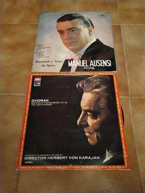 2 vinilos, ópera y música clásica