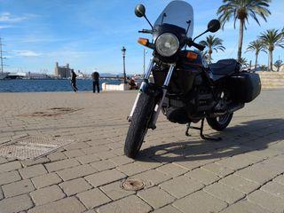 Moto BMW K75 color negro