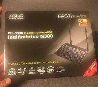 Modem Router ADSL Asus DSL-N14U