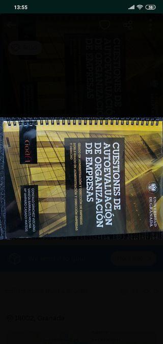 Libro Autoevaluación ORGANIZACIÓN DE EMPRESAS