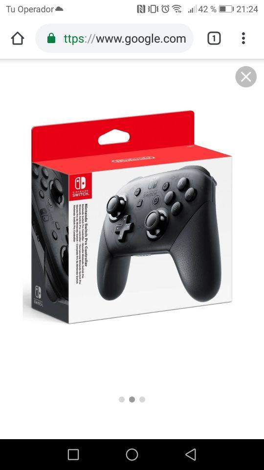 vendo mando pro Nintendo switch