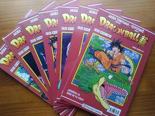 7 Cómics Dragon Ball Super 1 al 7
