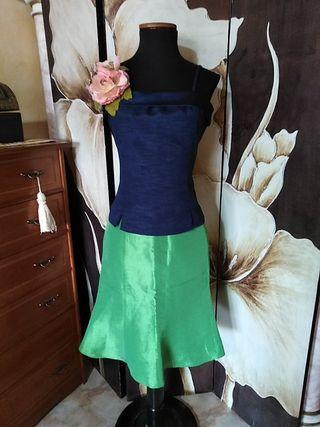 falda y top