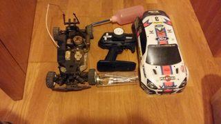 coche con motor radio control