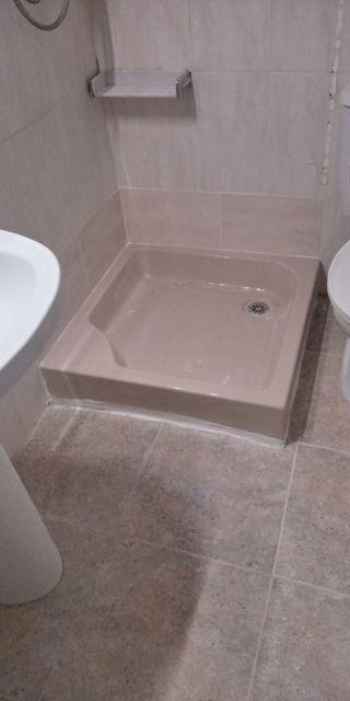Platos de ducha de fibra