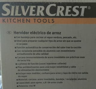 Hervidor eléctrico de arroz SIN USAR
