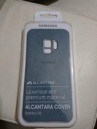 Samsung galaxy s9 tapa alcantara