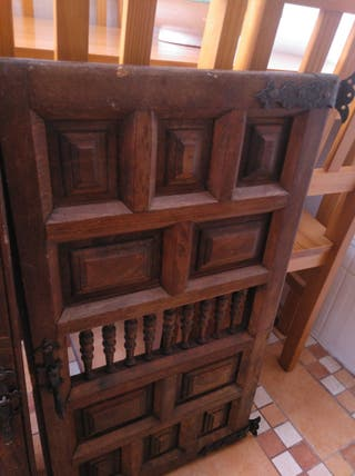 puertas de madera maciza antiguas