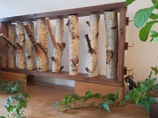 Porte manteau bois rustique