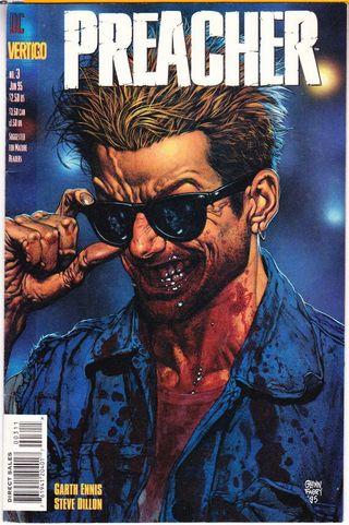 """Colección de cómics vintage """"Preacher"""""""
