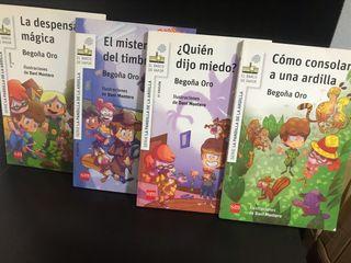 Libros colección La Pandilla de la Ardilla