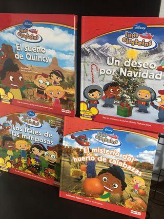 Libros colección Little Einstein
