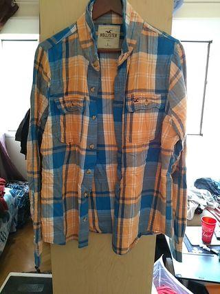 camisa Hollister talla L muscle americana Nueva