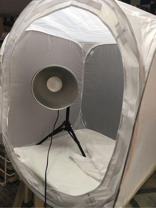 Kit para fotografias on line