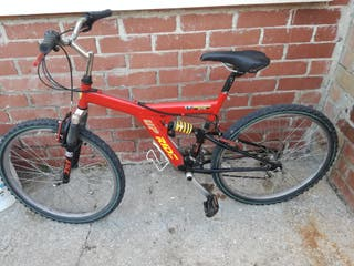 Bicicleta dobe amortiguador perfecta 18 v
