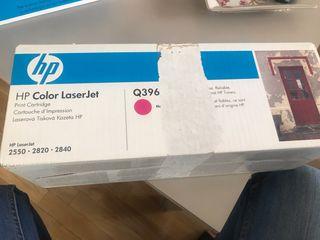 Toner impresora hp color magenta Q3963A