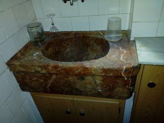 SOLO HOY Pila fregadero mármol antiguo