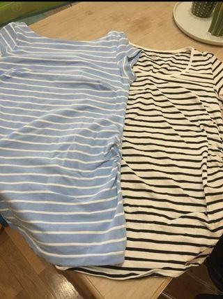 Camisetas manga corta embarazada