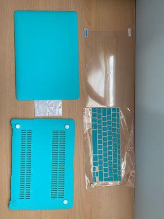 Funda + accesorios Macbook Air