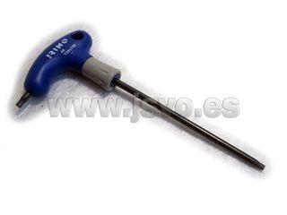 Destornillador Torx mango en T Irimo 46-T25-150