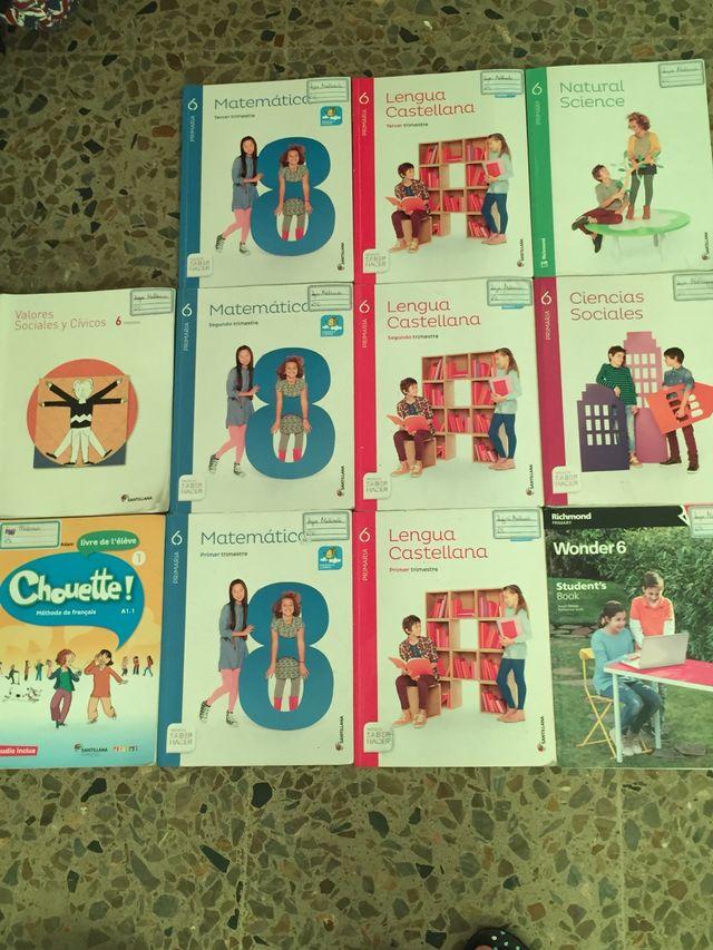 Libros 6 de primaria Enrique Soler
