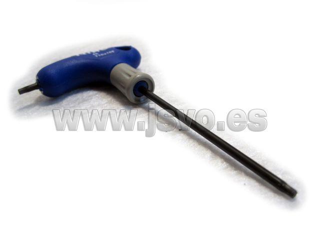 Destornillador Torx mango en T Irimo 46-T10-100