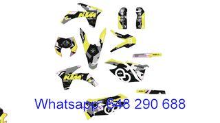 KIT ADHESIVOS KTM 2012-13 EXC, XC, XCF Y KTM 2011-