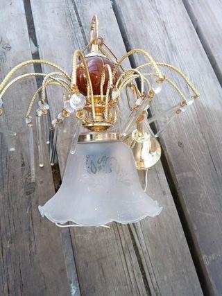 Dos lámparas techo