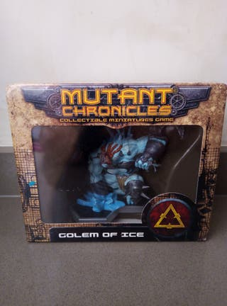 mutant chronicles golem of ice