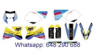 ADHESIVOS KTM 1998, 1999, 2000 XC, EXC, SX, MX