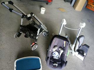 carro bebé confort loola + trona confort loola