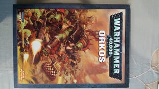 Warhammer 40.000 40k ORKOS Codex Games Workshop