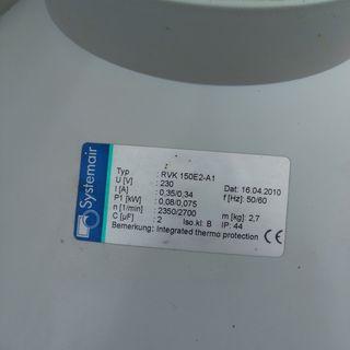 Extractor RVK 150 E2 A1