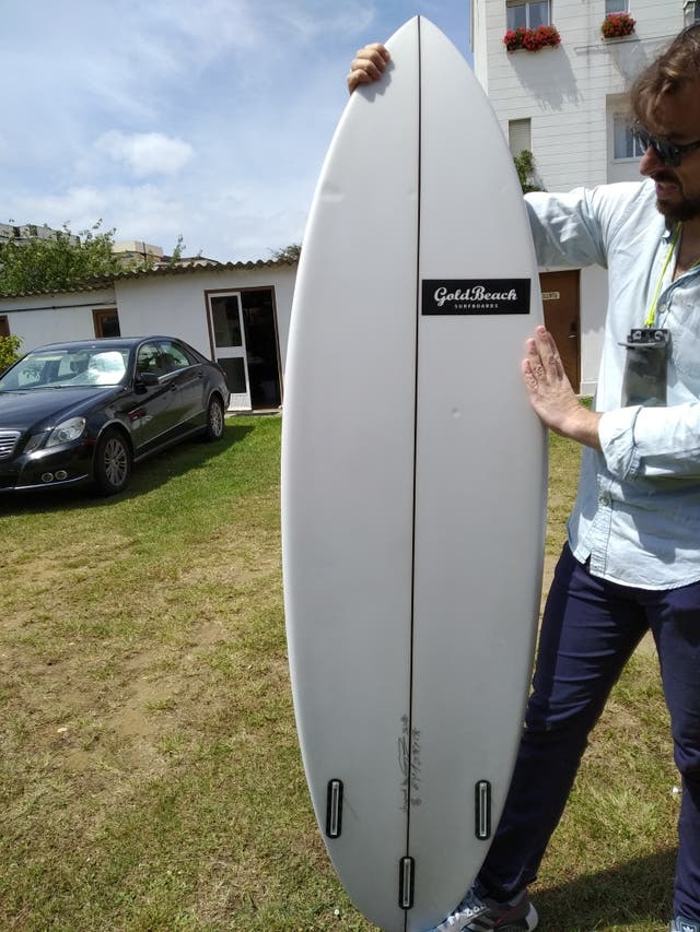 tabla de surf goldbeach 6'4