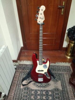 Pack bajo Fender Squier J bass