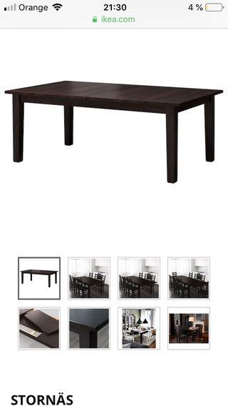 Segunda Mesa Grande Por Mano De Extensible En € Ikea Stornäs 100 thxQCsrd