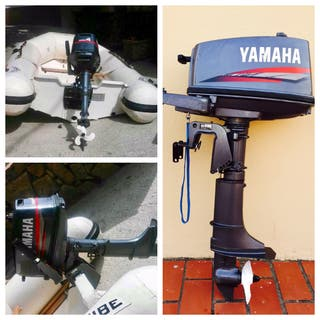 Zodiac Neopreno y Motor Yamaha 4cv