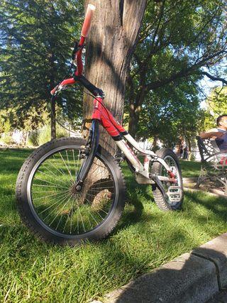 Bicicleta de trial dox